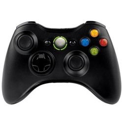 Geeek Xbox 360 Wireless Controller Black