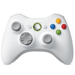 Geeek Draadloze Controller Wit voor Xbox 360