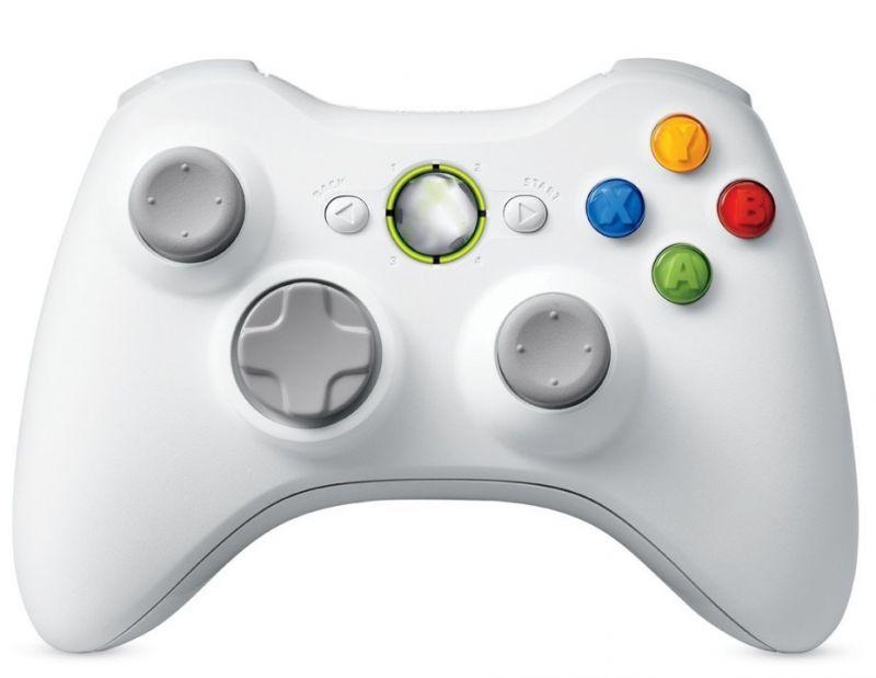 Draadloze Controller Wit voor Xbox 360