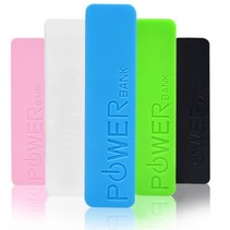 Mini Power Bank 2600mah for Smartphones and Tablets