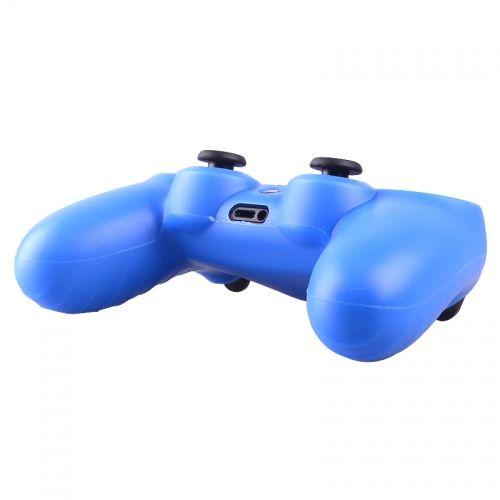 ps4 controller silikonschutzh lle cover skin blau jetzt g nstig kaufen. Black Bedroom Furniture Sets. Home Design Ideas