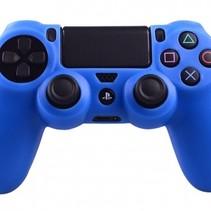 Silicone Beschermhoes voor PS4 Controller Cover Skin Blauw