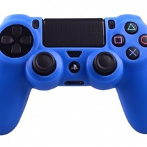 Silicone Protective Skin for PS4 Controller Cover Blue