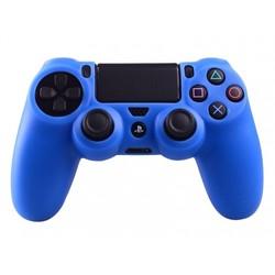 Geeek PS4 Controller Silikonschutzhülle Cover Skin – Blau