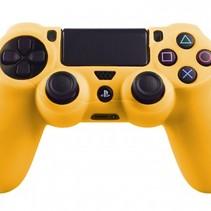 Silikonschutzhülle für PS4 Kontroller Cover Skin - Gelb