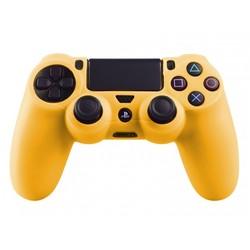 Geeek PS4 Controller Silikonschutzhülle Cover Skin - Gelb