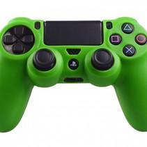 Silicone Beschermhoes voor PS4 Controller Cover Skin Groen