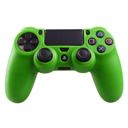 Geeek PS4 Controller Silicone Protective Skin Cover Green ...
