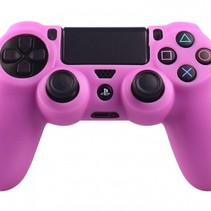 Silicone Protective Skin for PS4 Controller Cover Pink