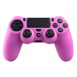 Geeek Silicone Protective Skin for PS4 Controller Cover Pink