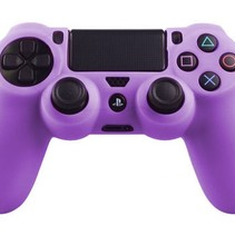 Silicone Beschermhoes voor PS4 Controller Cover Skin Paars