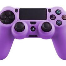 Silikonschutzhülle für PS4 Kontroller Cover Skin - Lila