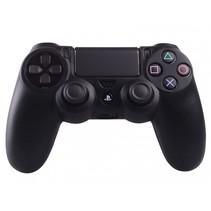 Silicone Beschermhoes voor PS4 Controller Cover Skin Zwart