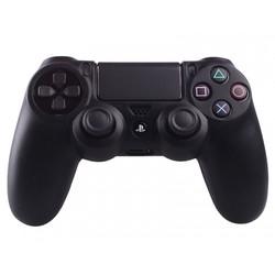 Geeek Silikonschutzhülle für PS4 Kontroller Cover Skin - Schwarz