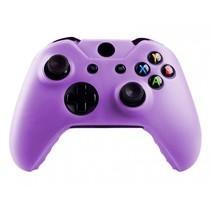 Silicone Beschermhoes Skin voor Xbox One (S) Controller - Paars