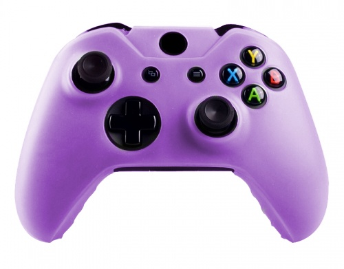 Xbox One Controller Silicone Beschermhoes Cover Skin Paars