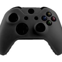Silicone Cover Skin für Xbox One (S) Controller - Schwarz