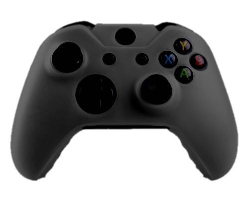 Xbox One Controller Silicone Beschermhoes Cover Skin Zwart