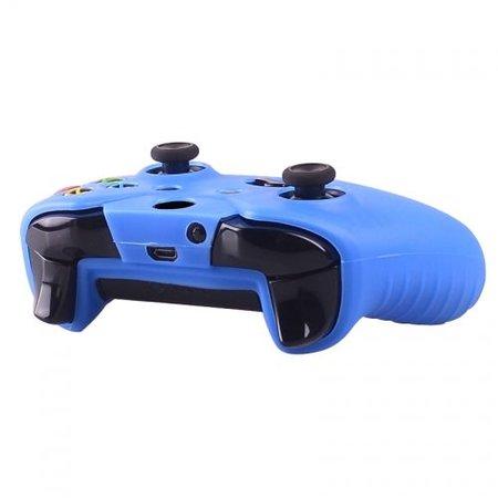 Geeek Silicone Beschermhoes Skin voor Xbox One (S) Controller - Blauw