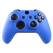 Silicone Beschermhoes Skin voor Xbox One (S) Controller - Blauw