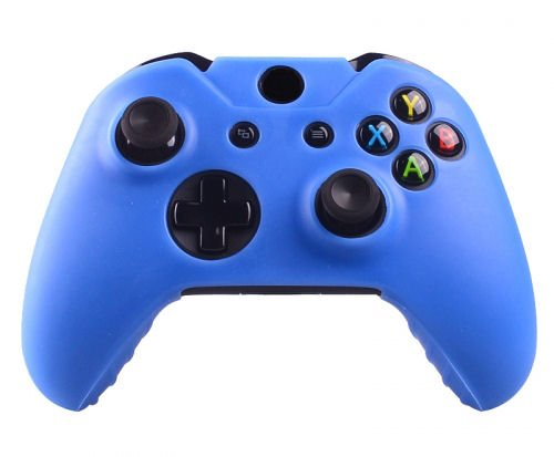 Xbox One Controller Silicone Beschermhoes Cover Skin Blauw