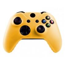Silicone Beschermhoes Skin voor Xbox One (S) Controller - Geel