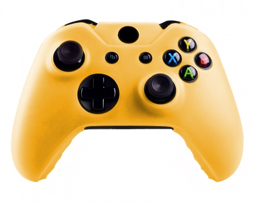 Xbox One Controller Silicone Beschermhoes Cover Skin Geel