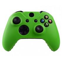 Silicone Beschermhoes Skin voor Xbox One (S) Controller - Groen