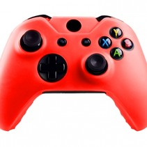 Silicone Beschermhoes Skin voor Xbox One (S) Controller - Rood