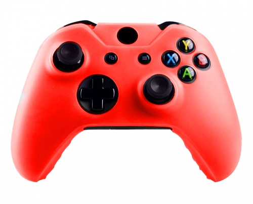 Xbox One Controller Silicone Beschermhoes Cover Skin Rood
