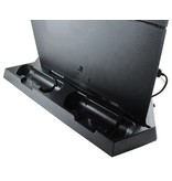 Geeek Vertikal Dock Station mit Lüftern und Ladegerät für PS4 game konsole