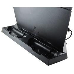 Geeek PS4 Vertikal Dockingstation mit Lüftern und Ladegerät