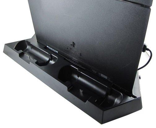 ps4 vertikal dockingstation mit l ftern und ladeger t. Black Bedroom Furniture Sets. Home Design Ideas