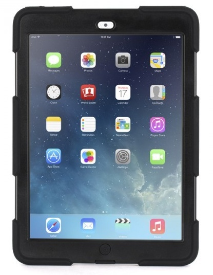 Survivor Extreme Duty Case iPad Air Zwart