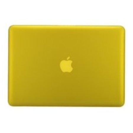 Geeek Hardshell Cover MacBook Air 13 Zoll – Gelb
