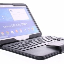 Bluetooth Toetsenbord / Case / Cover voor Samsung Galaxy Tab 4  -10.1 Inch - Zwart