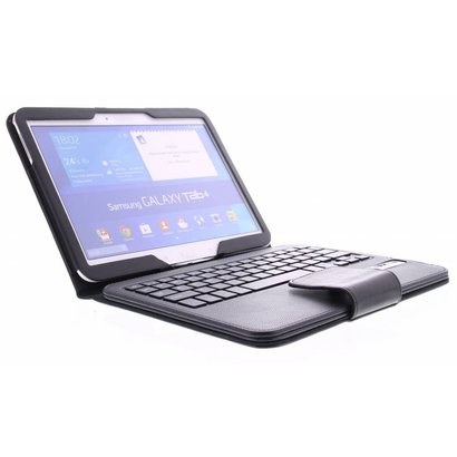 Geeek Bluetooth Tastatur Case Samsung Galaxy Tab 4 10.1 – Schwarz