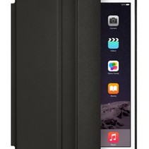 iPad Air 2 Smart Case Ledertasche - Schwarz