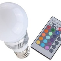 LED Glühlampe mit Fernedienung