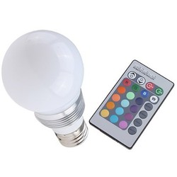 Geeek LED Light Bulb with Remote
