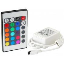 Led IR Controller Afstandsbediening RGB 24 key