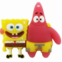 Spongebob en Patrick USB-Stick