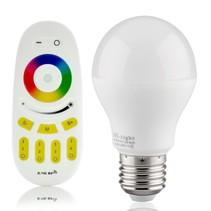 RGBW 6W LED-Lampe mit Fernbedienung