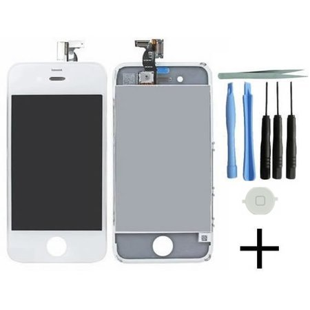Geeek iPhone 4S Display Set – Weiß