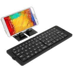 Geeek Foldable Bluetooth Keyboard for Smartphone and Tablet