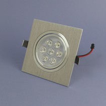 LED Inbouwspot 7 Watt Warm Wit Dimbaar