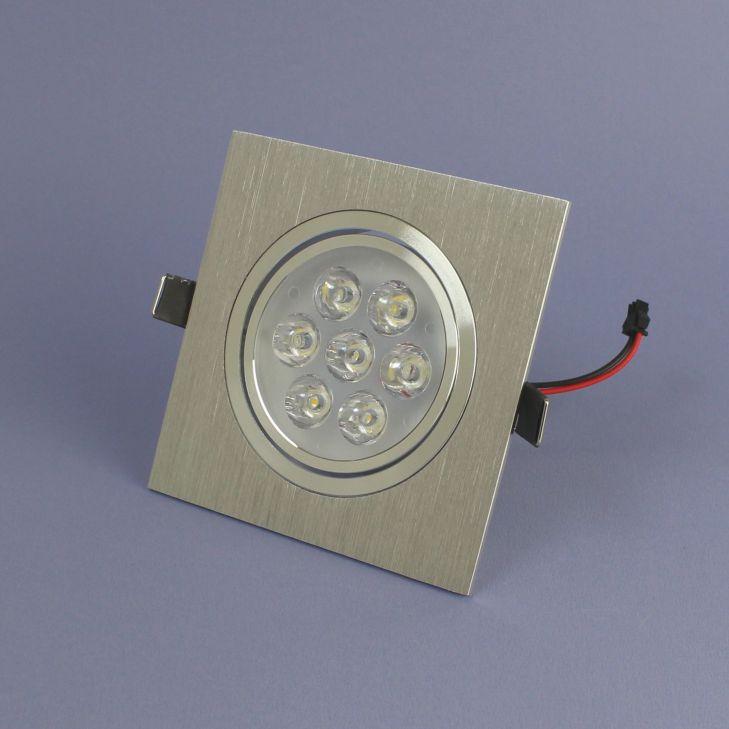 led inbouwspot 7 watt warm wit dimbaar verlichting online shop geeektech. Black Bedroom Furniture Sets. Home Design Ideas
