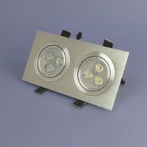 Dimmbare Dual-LED Einbau 3 Watt – Warmweiß