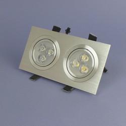 Geeek Dual LED Recessed 3 Watt Warm White Dimmable