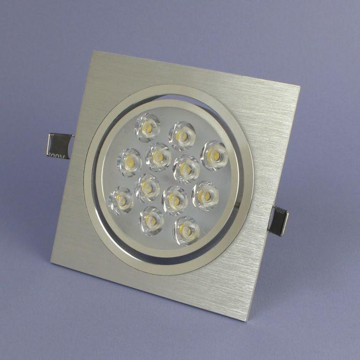 LED Inbouwspot 12 Watt Warm Wit Dimbaar
